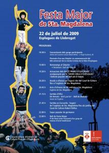 Cartell de Santa Magdalena 2009